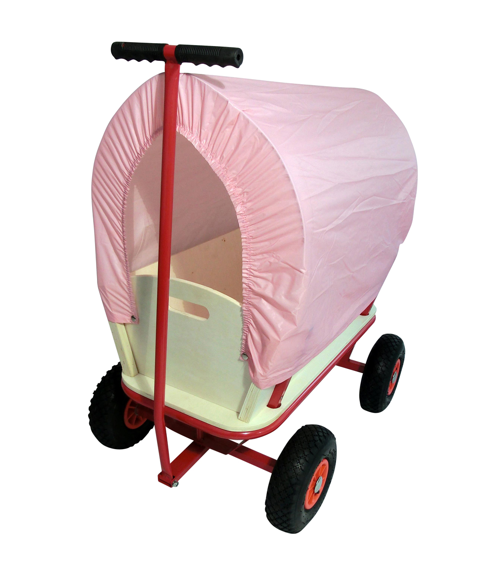 Chariot Transport Bois - Chariot DE Transport u00c0 Tirer u00c0 LA Main EN Bois Charrette Courses Enfants Neuf eBay