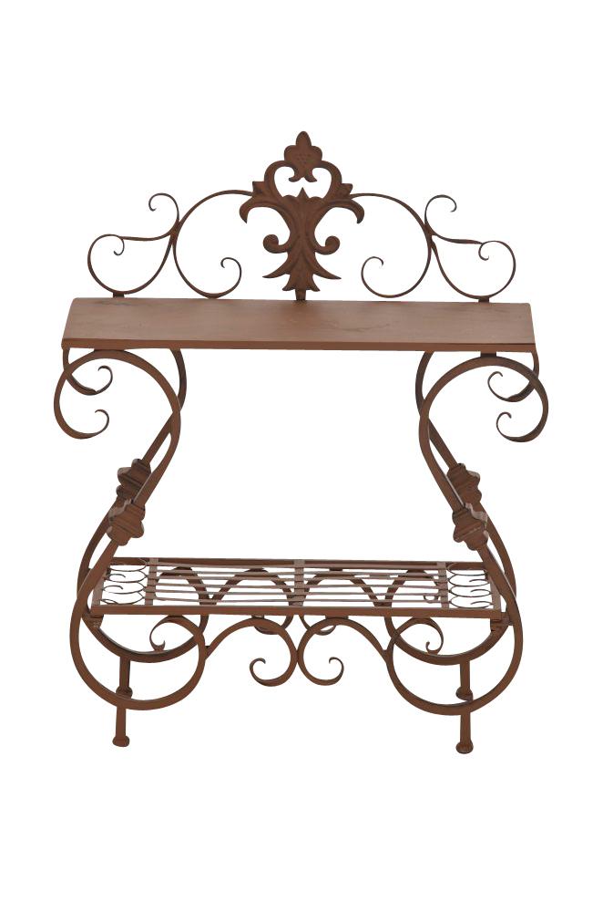 blumentisch aurica neu eisen pflanztisch metalltisch. Black Bedroom Furniture Sets. Home Design Ideas