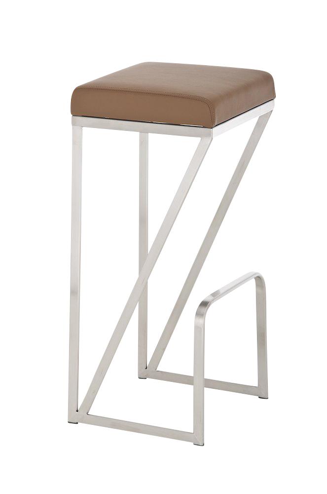 edelstahl barhocker leeds sitzh he 80 cm barstuhl tresenhocker hocke barm bel ebay. Black Bedroom Furniture Sets. Home Design Ideas