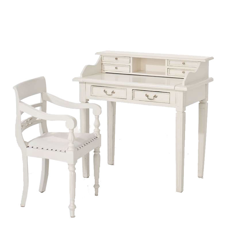 mahagoni stuhl derry weiss sekret r klassik antik echtleder kolonialstil ebay. Black Bedroom Furniture Sets. Home Design Ideas