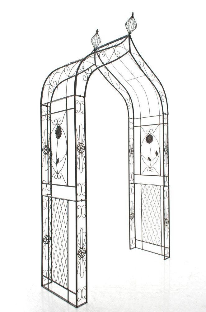 rosenbogen dolkar rankhilfe torbogen spalier eisen pergola. Black Bedroom Furniture Sets. Home Design Ideas