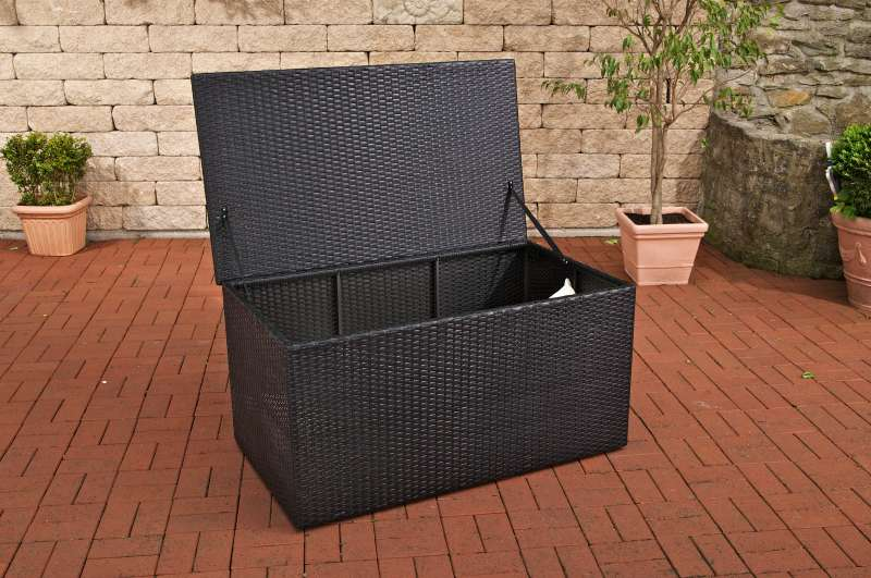 Auflagenbox Poly-Rattan