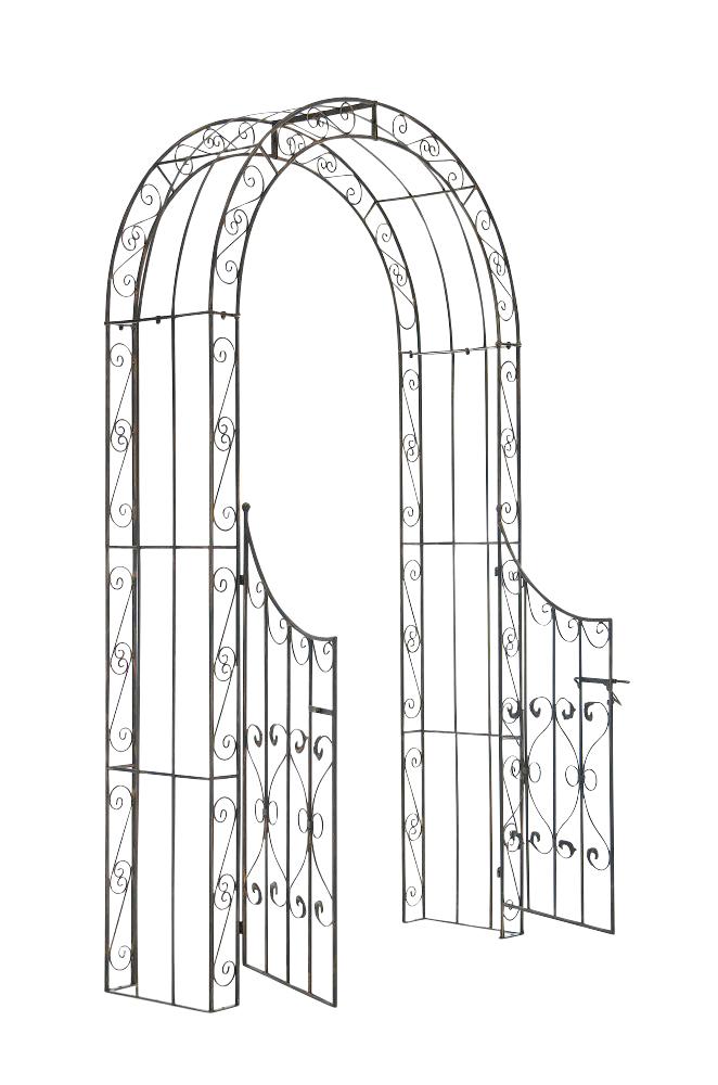rosenbogen sina mit tor torbogen rankhilfe blumenranke. Black Bedroom Furniture Sets. Home Design Ideas