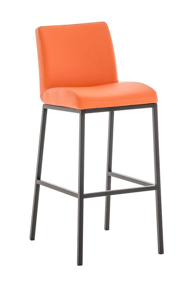 sedia sgabello cp188 con poggiapiedi 39x40x100cm ecopelle