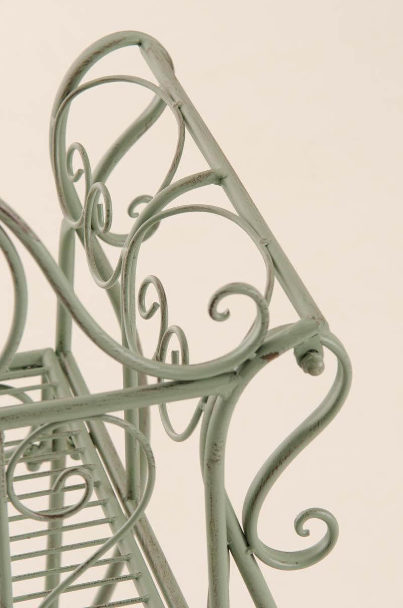 Fixias.com  Gartenbank Grun Metall_121324 ~ Eine interessante Idee für die Gestaltung einer ...