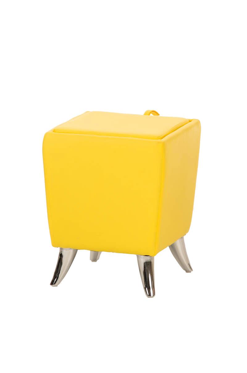 Sitzhocker ROXY Kunstleder Sitzwürfel Hocker Aufbewahrungsbox ...   {Hocker mit stauraum für schuhe 81}