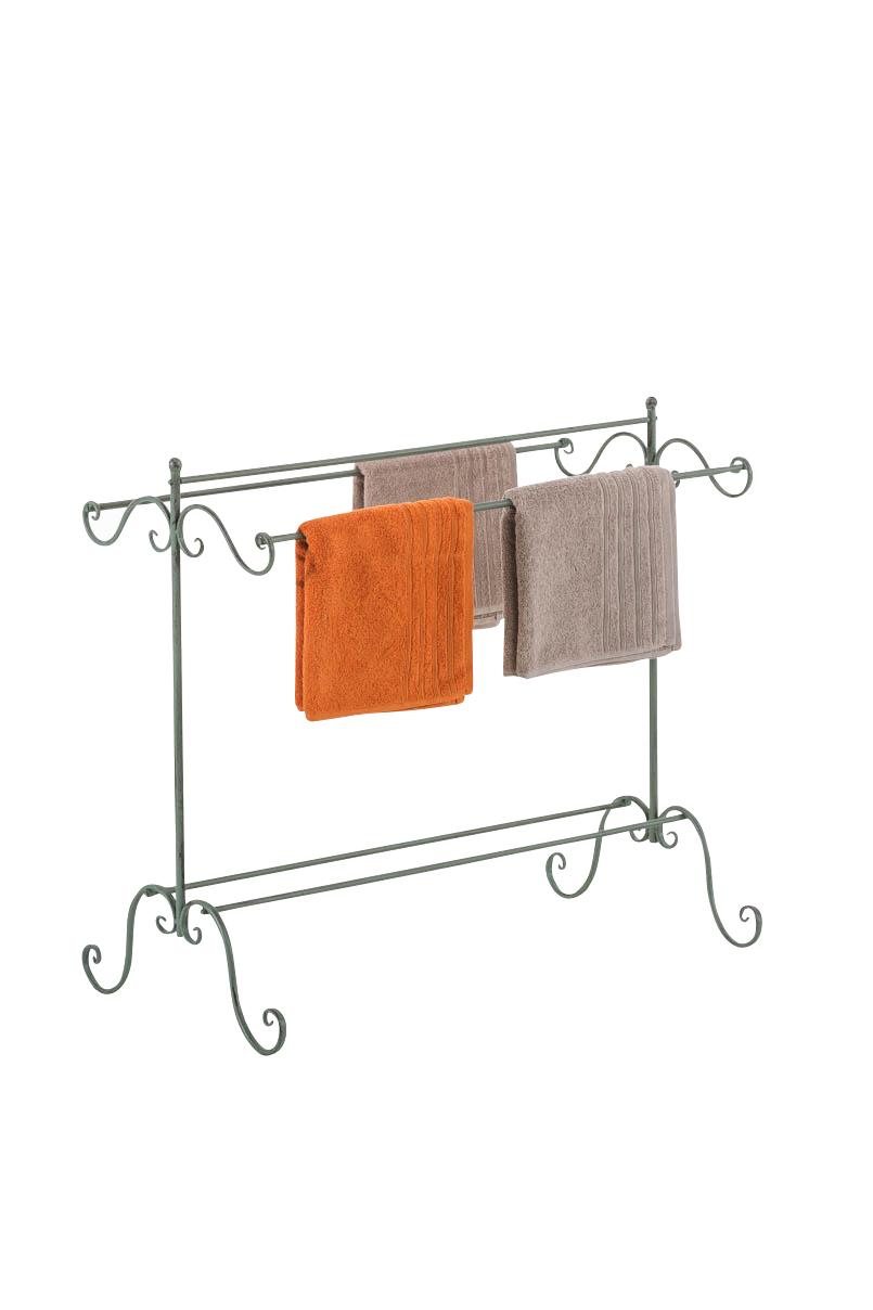 vintage towel rail gratia rack holder bathroom standing. Black Bedroom Furniture Sets. Home Design Ideas