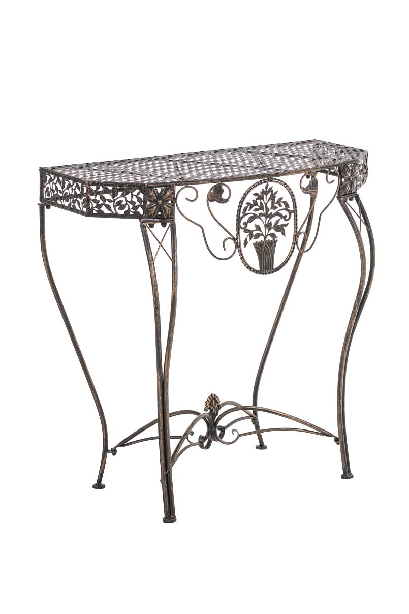 blumentisch sorana neu eisen pflanztisch metalltisch. Black Bedroom Furniture Sets. Home Design Ideas