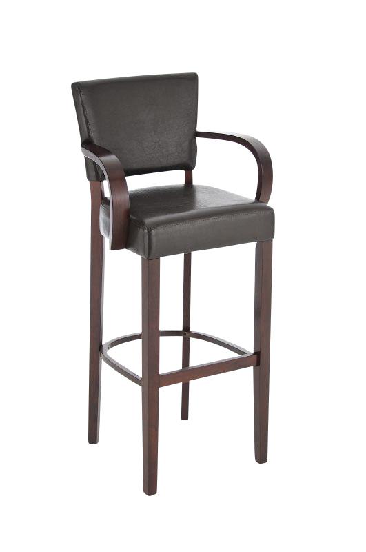 lionel mit armlehne holz barstuhl hocker bar stuhl tresenhocker k che. Black Bedroom Furniture Sets. Home Design Ideas