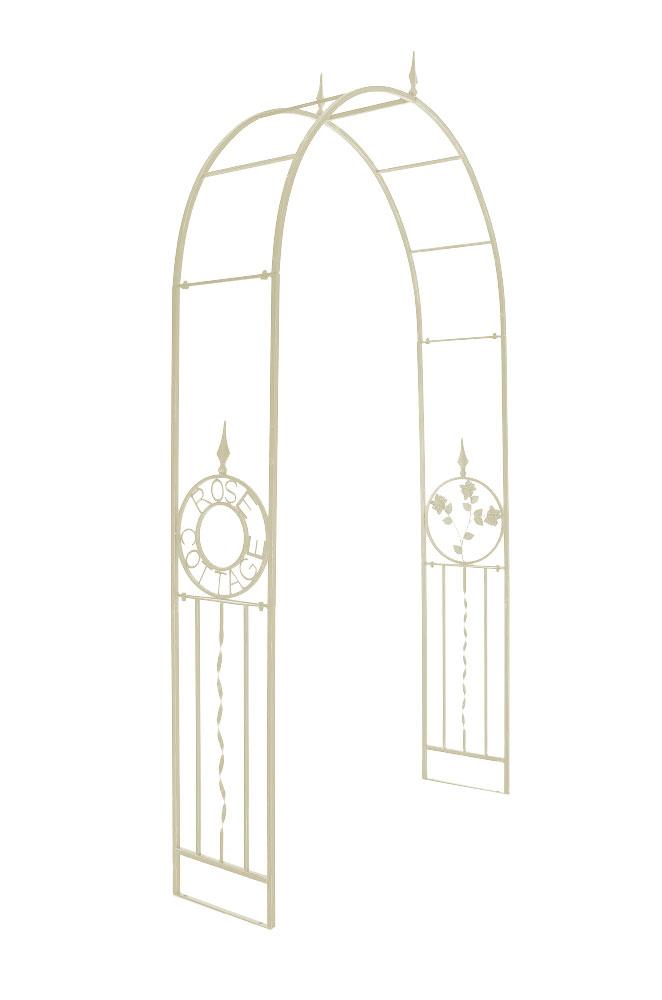 rosenbogen cottage metall pergola rankhilfe rankgitter. Black Bedroom Furniture Sets. Home Design Ideas