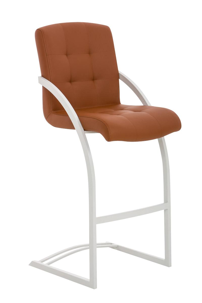 Sedia sgabello a slitta cp118 design moderno ecopelle for Sedia design ecopelle bianca