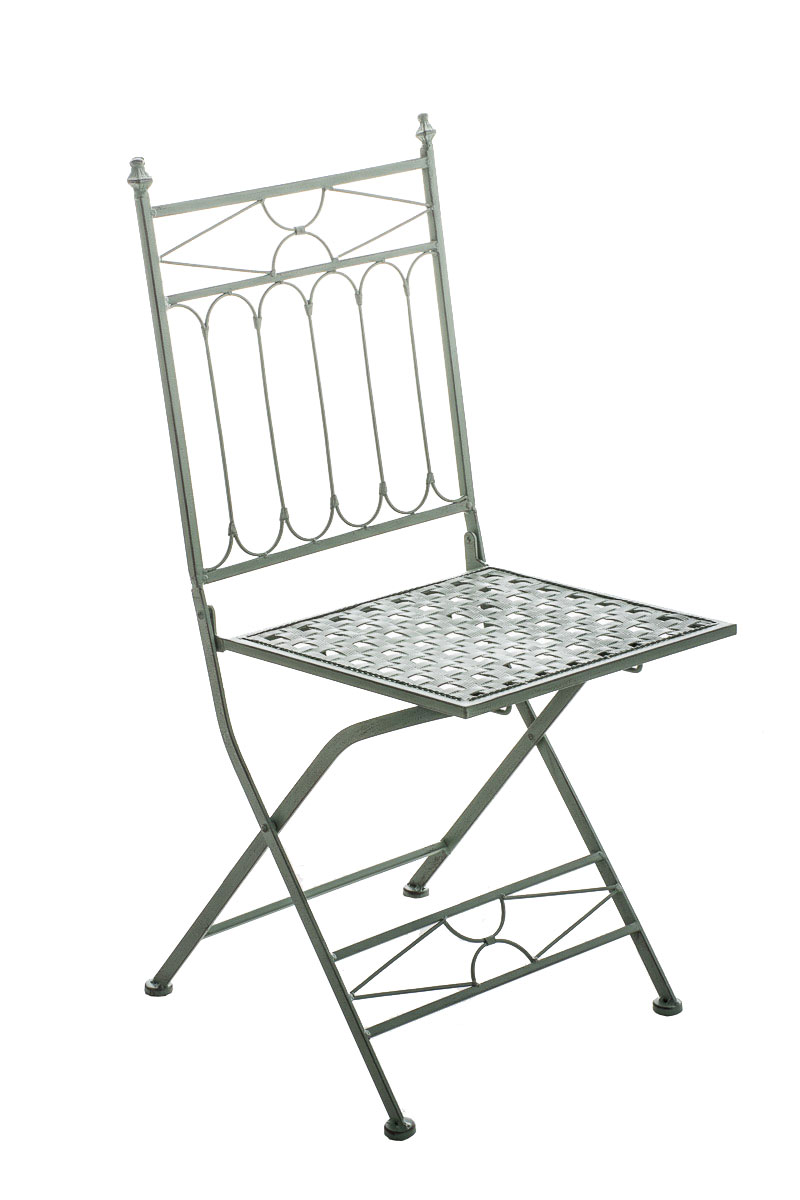 Folding Iron Garden Chair ASINA Foldable Patio Outdoor