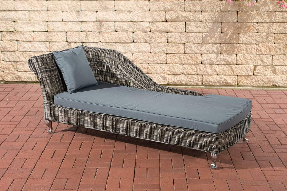 poly rattan recamiere chaise longue savannah 5mm rund. Black Bedroom Furniture Sets. Home Design Ideas