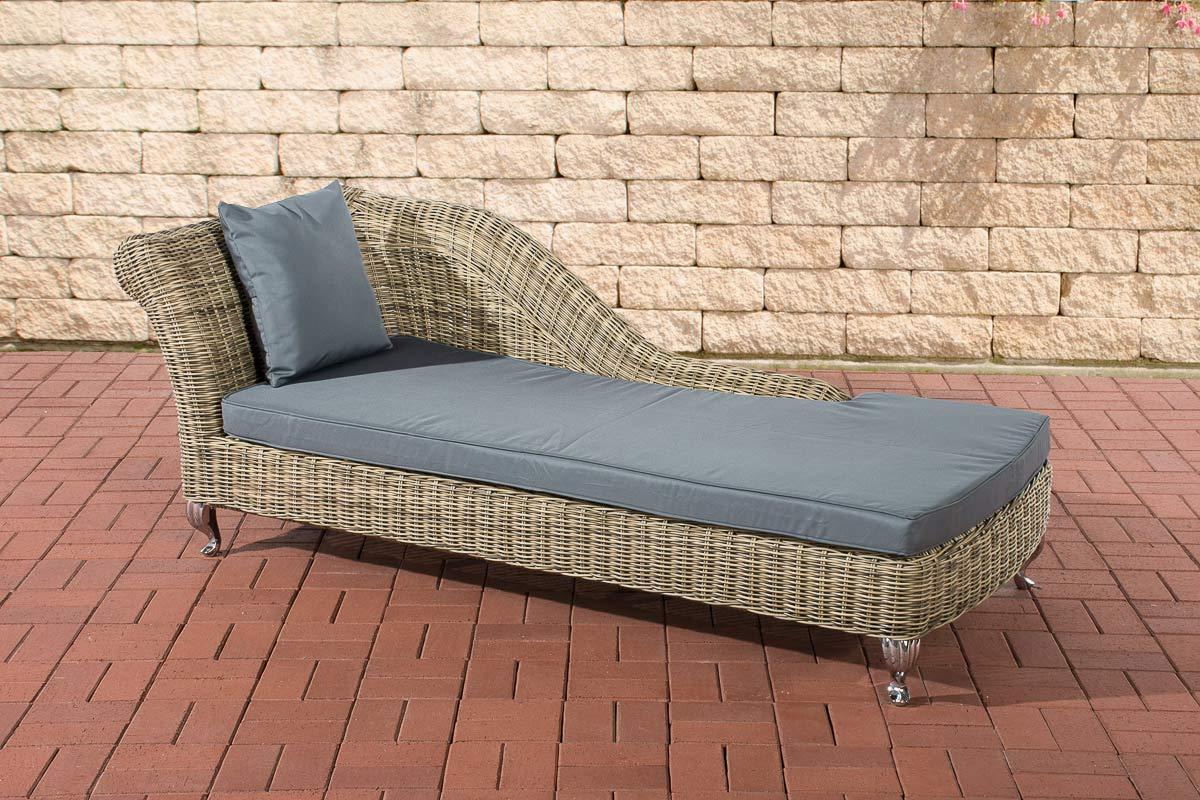 Chaise longue savannah 5mm natura rattan sun lounger for Chaise longue rattan ikea