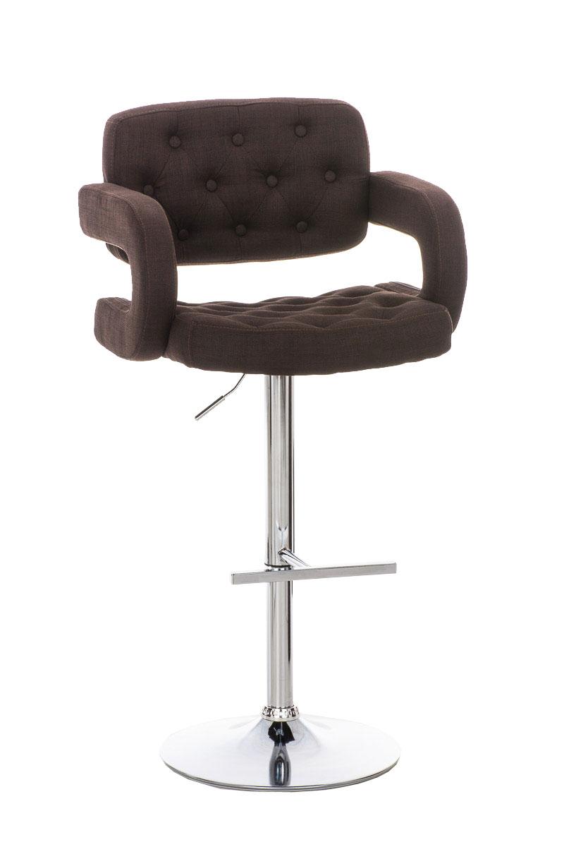 sgabello sedia 2in1 con braccioli dublino tessuto stile