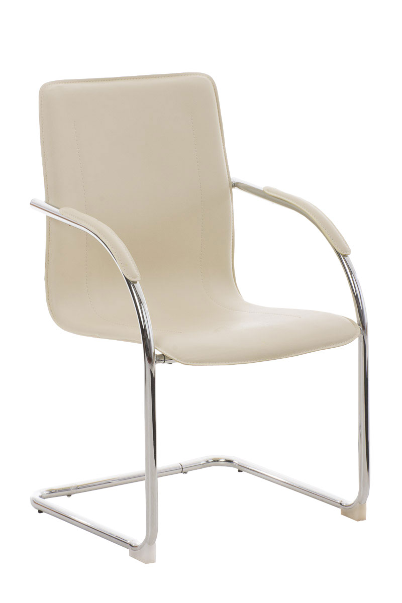 Conference Chair MELINA Waiting Room Seat Metal Visitor
