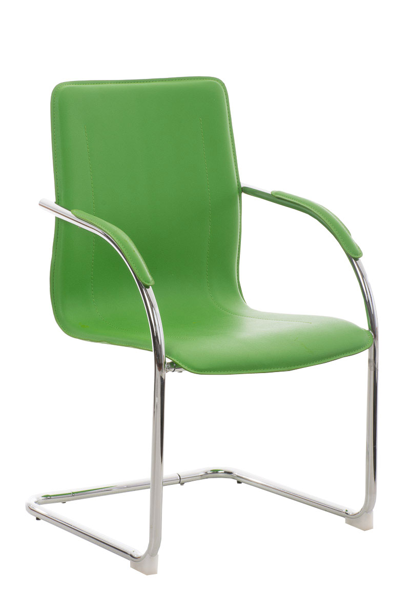 Sedia ufficio a slitta cp269 ecopelle design moderno for Sedia design moderno