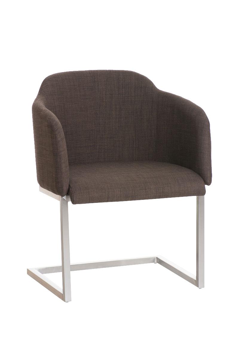 Freischwinger stuhl magnus edelstahl stoffbezug for Stuhl edelstahl