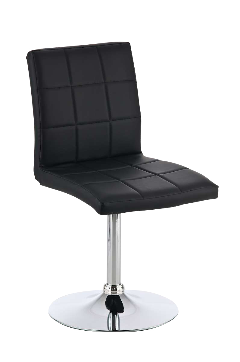 Design dining chair riga bar stool barstools leather for Leather and chrome dining chairs