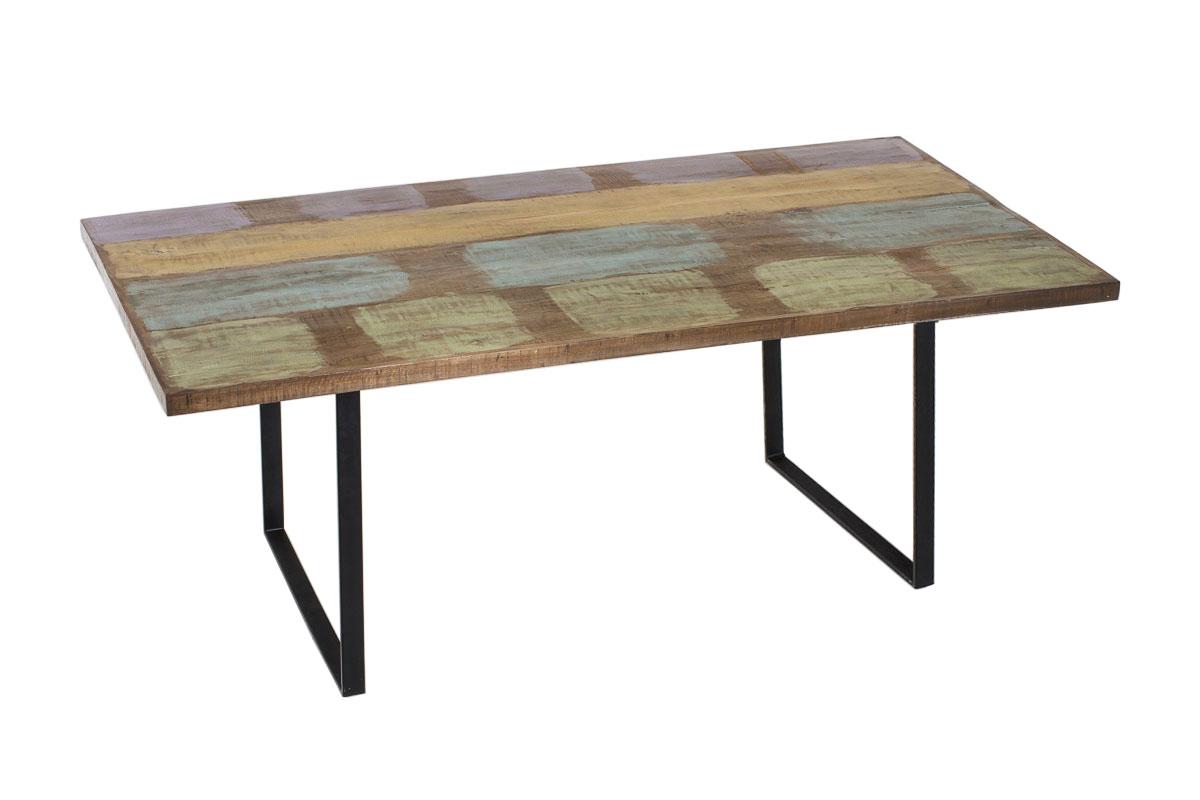 essszimmertisch cp525 esstisch tisch recyceltes teakholz handarbeit 220cm. Black Bedroom Furniture Sets. Home Design Ideas