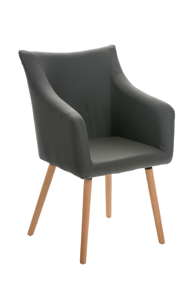 Chair Mccoy Faux Leather Conference Dining Waiting Room