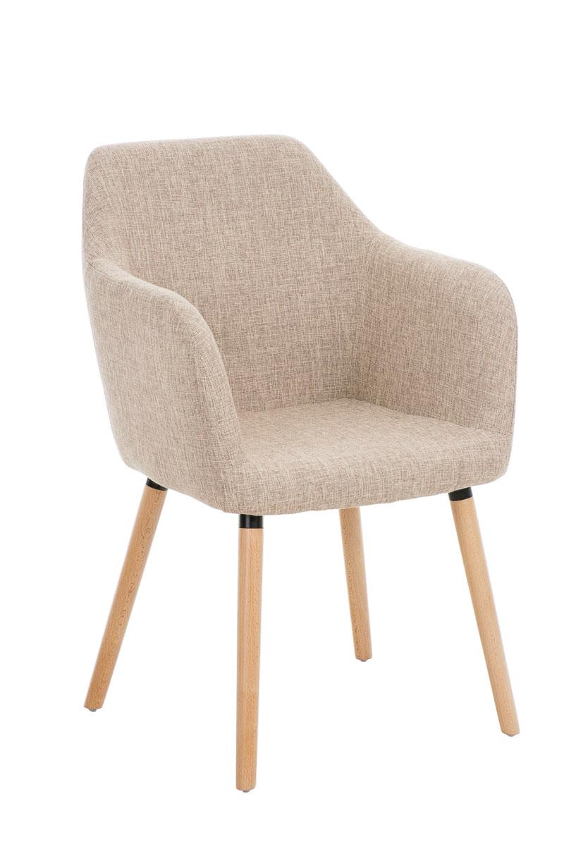 Fauteuil salle manger picard chaise tissu bois accoudoir - Tissus pour recouvrir chaise de cuisine ...