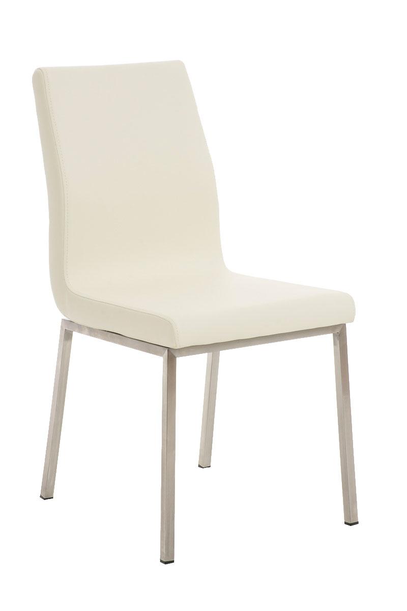 edelstahl esszimmerstuhl colmar kunstleder design polster k chenstuhl stuhl neu ebay. Black Bedroom Furniture Sets. Home Design Ideas