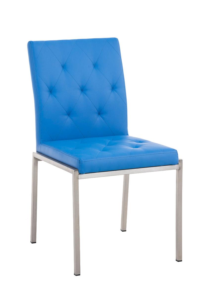edelstahl besucherstuhl charly kunstleder design polster k chenstuhl stuhl neu ebay. Black Bedroom Furniture Sets. Home Design Ideas