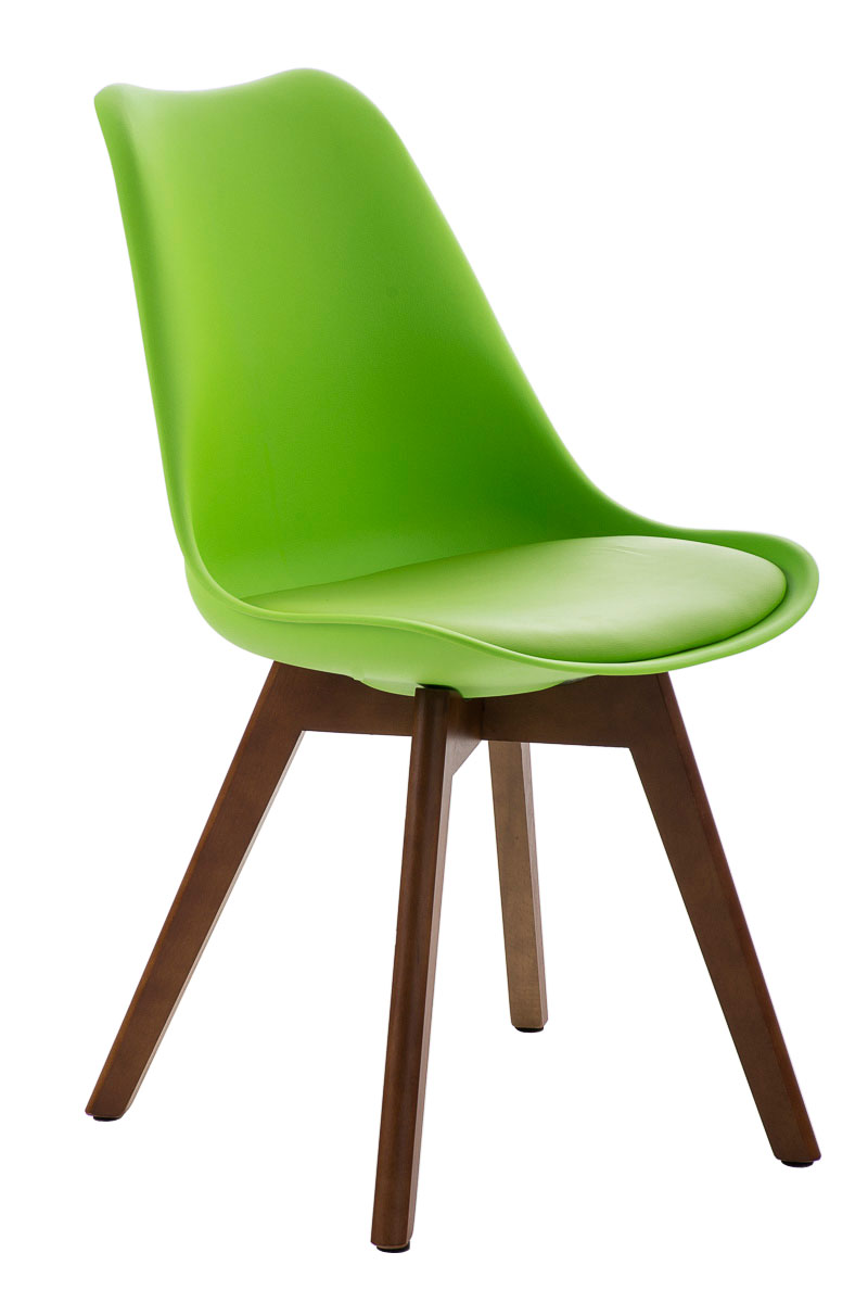 Besucherstuhl borneo walnuss loft chair design for Besucherstuhl design