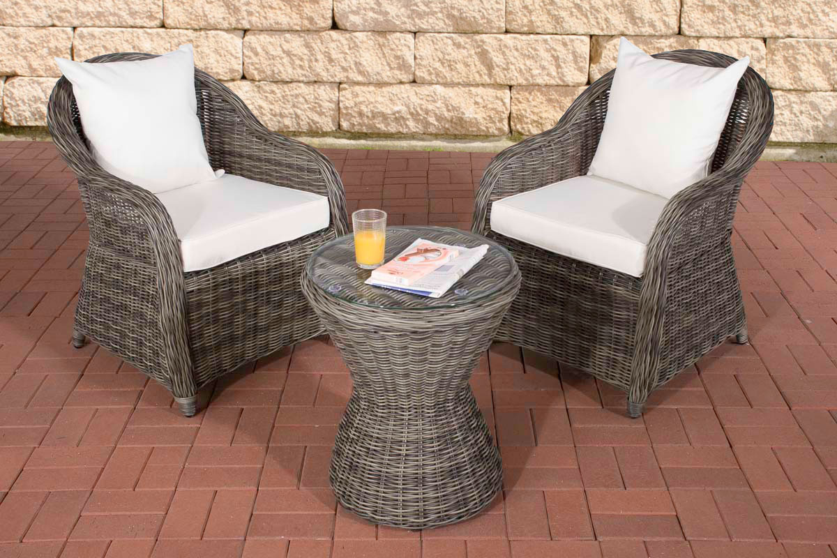 garten sitzgruppe sandino gartenset terrasse balkon tisch und stuhlset neu ebay. Black Bedroom Furniture Sets. Home Design Ideas