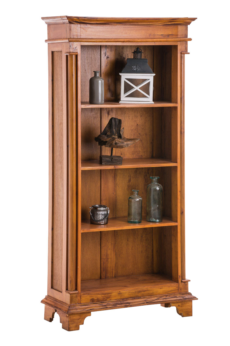 b cherschrank hopkins mahagoni b cherregal holz schrank landhaus b cherwand neu ebay. Black Bedroom Furniture Sets. Home Design Ideas