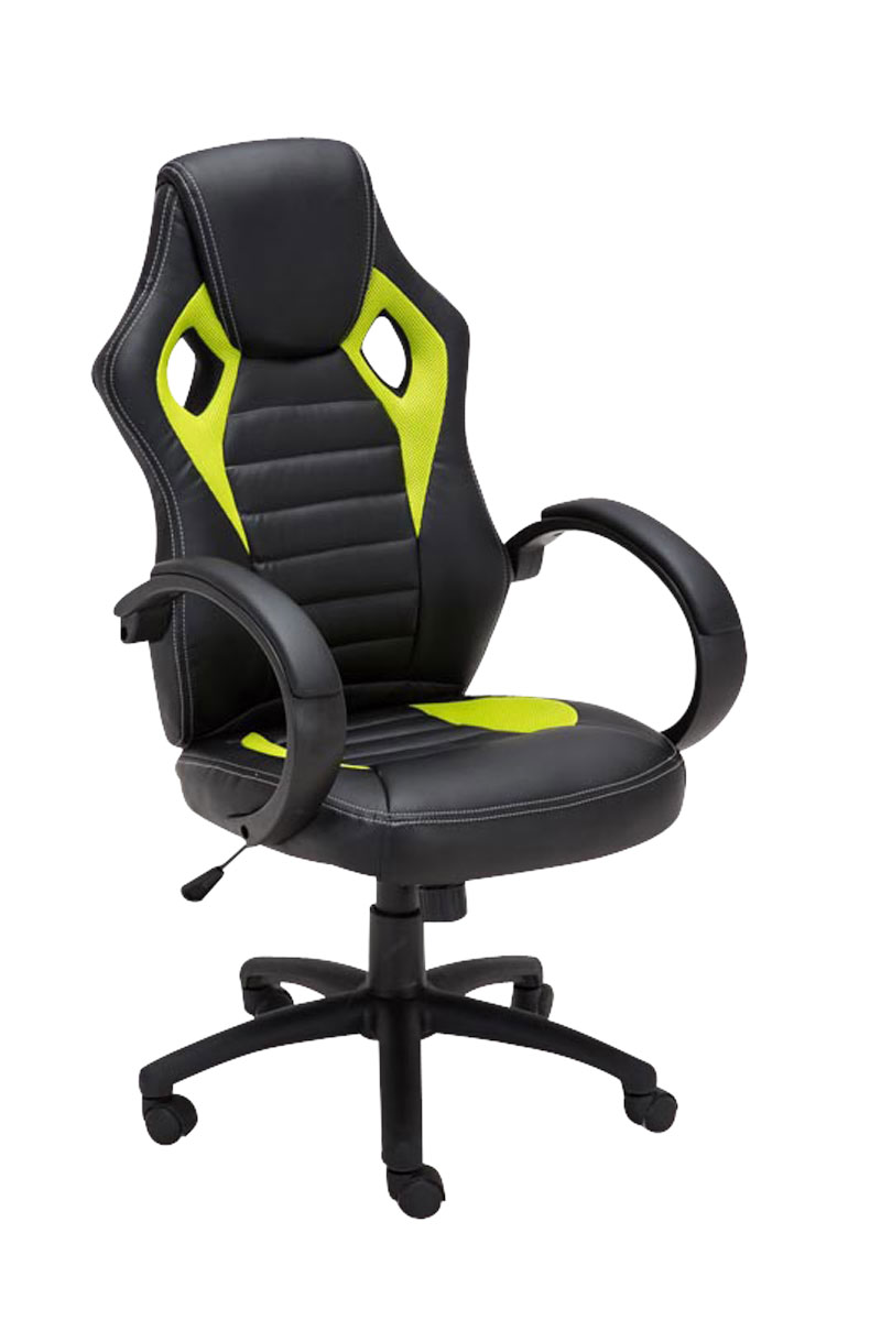 Racing Office Chair SPEED Sporty Design Executive Desk Seat Padded Swivel Hei
