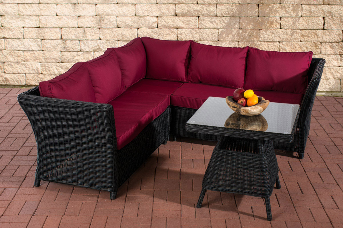 polyrattan gartengarnitur santa lucia eckgarnitur gartenm bel essgruppe couch ebay. Black Bedroom Furniture Sets. Home Design Ideas