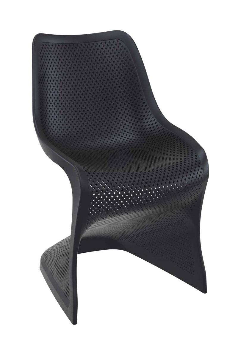 kunststoff stuhl bloom gartenstuhl k chenstuhl freischwinger esszimmerstuhl neu ebay. Black Bedroom Furniture Sets. Home Design Ideas