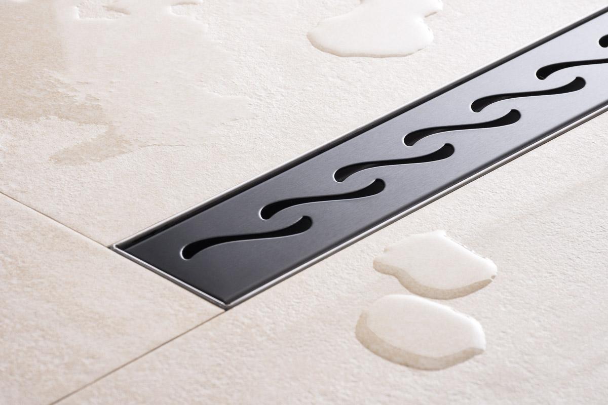 duschrinne edelstahl siphon ablaufrinne bodenablauf befliesbar dusch duschablauf ebay. Black Bedroom Furniture Sets. Home Design Ideas