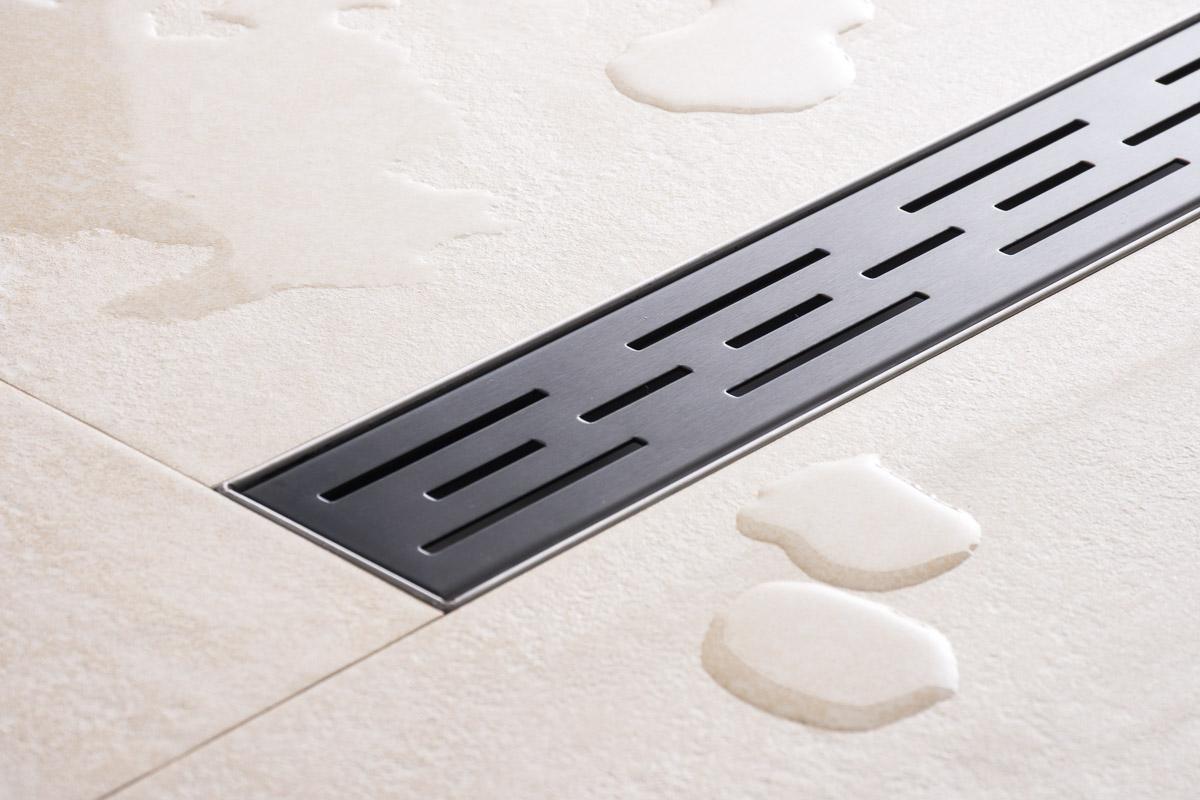 Bathroom Floor Drains Stainless Steel : Shower drains stainless steel tile floor linear channel