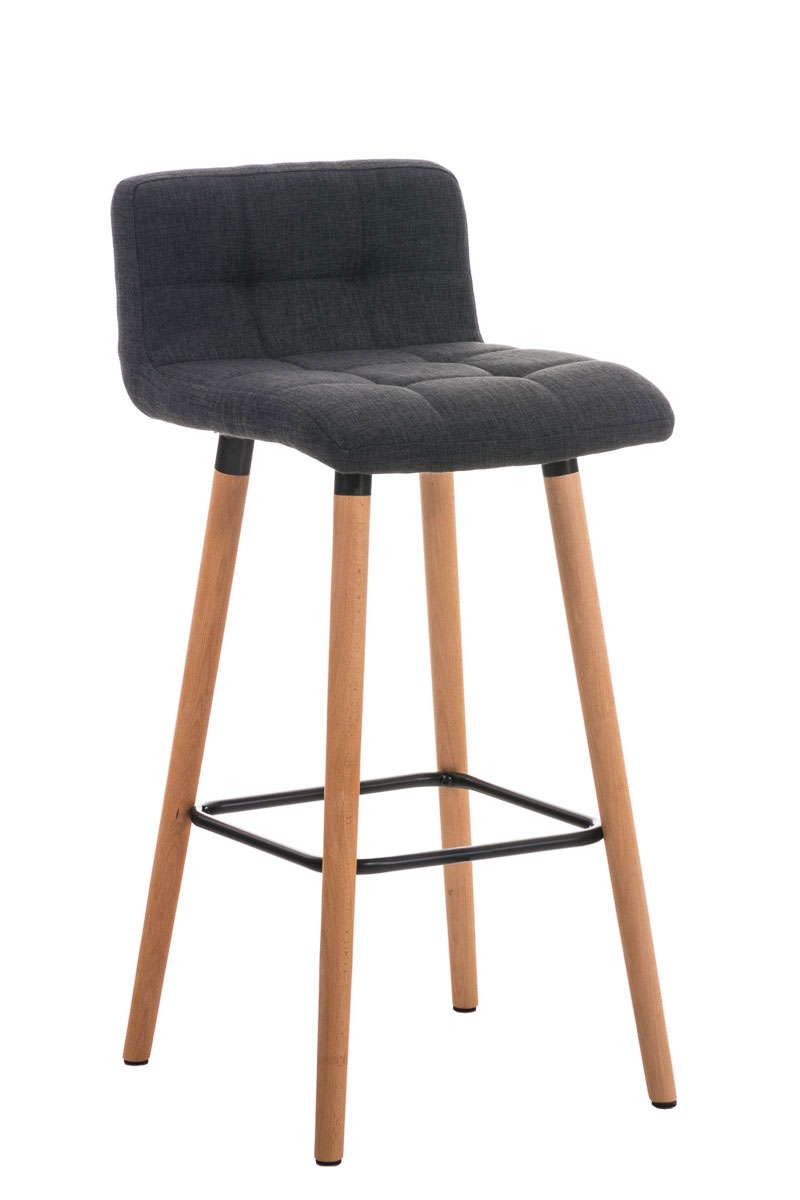 barhocker lincoln stoff tresen thekenhocker holz barstuhl. Black Bedroom Furniture Sets. Home Design Ideas