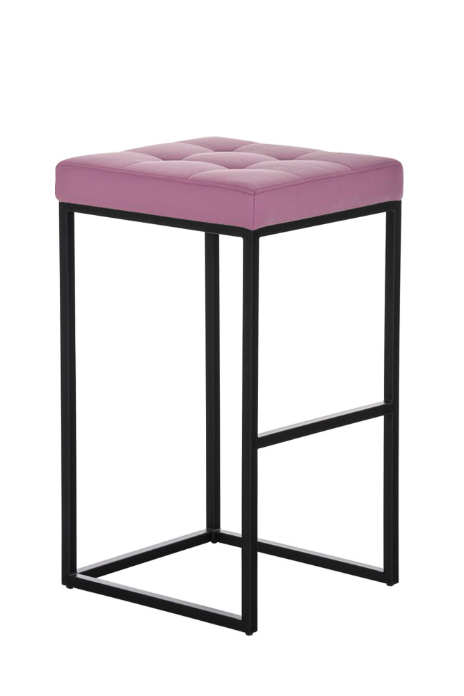Tabouret-bar-LUGANO-B77-similicuir-design-graphique-metal-repose-pied-cuisine