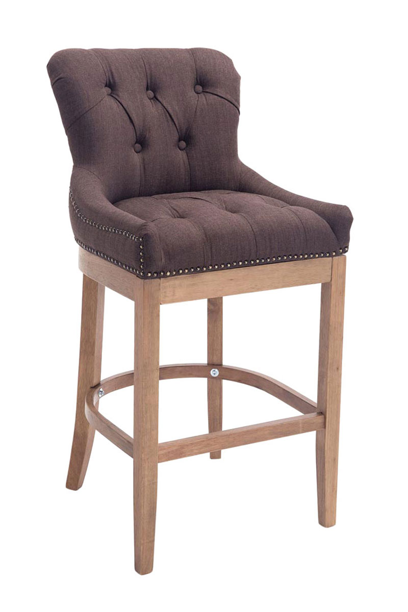 Elegant Bar Stool Buckingham Tweed Breakfast Kitchen