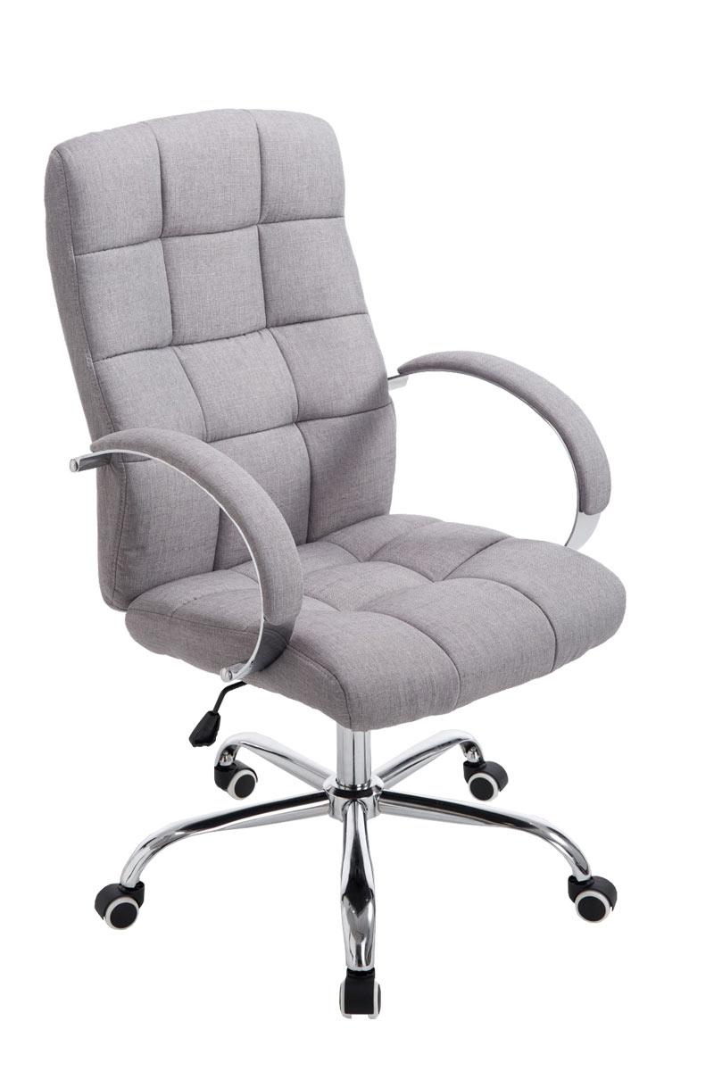 Schreibtischstuhl  Bürostuhl Mikos Stoff Chefsessel Schreibtischstuhl Drehstuhl ...