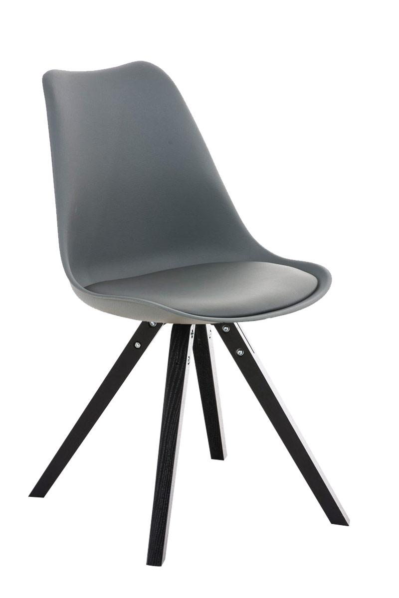 besucherstuhl pegleg square schwarz konferenzstuhl loft. Black Bedroom Furniture Sets. Home Design Ideas