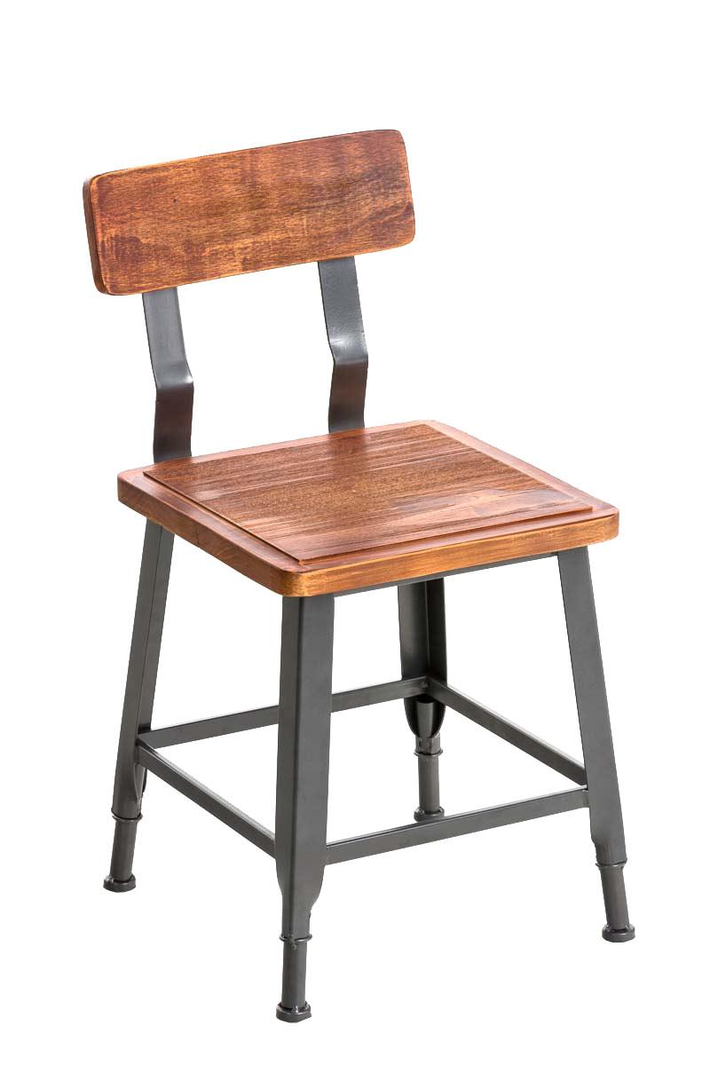 bistrostuhl till metall holz esszimmerstuhl industrial design gastronomie neu ebay. Black Bedroom Furniture Sets. Home Design Ideas