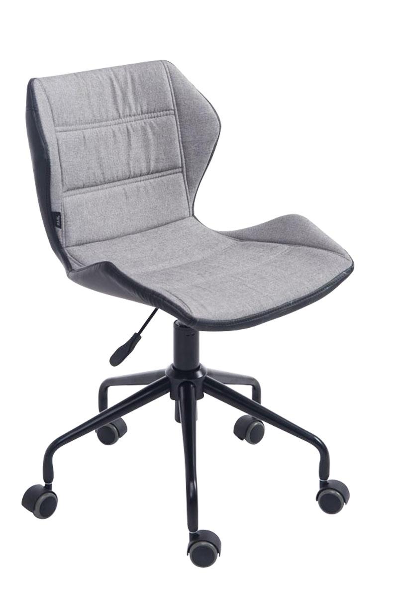 Schreibtischstuhl modern grau  Bürostuhl Roger Chefsessel Drehstuhl Schreibtischstuhl Stoff ...