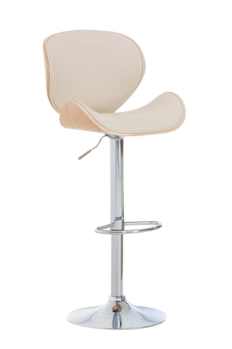 Design barhocker edmonds tresenhocker mit lehne for Design barstuhl