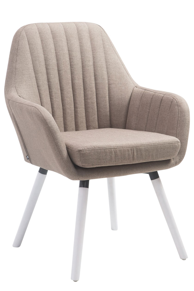Chair Florian Tweed Visitor Waiting Room Dining Chair