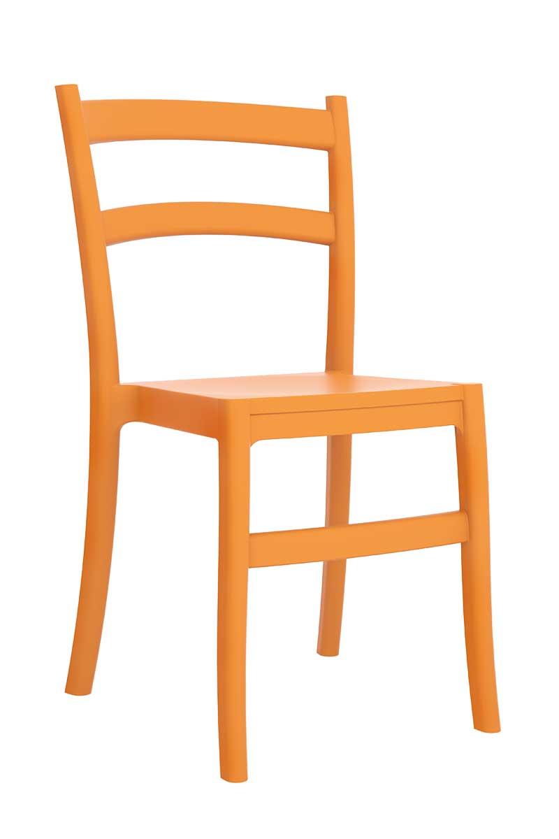 Stuhl tiffany besucherstuhl design stapelstuhl kunststoff for Designer stapelstuhl