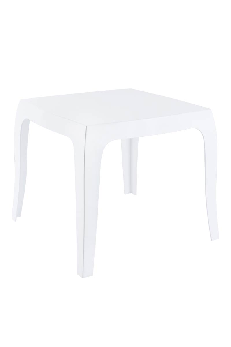 Beistelltisch Design Kunststoff Bistro Tisch QUEEN modern