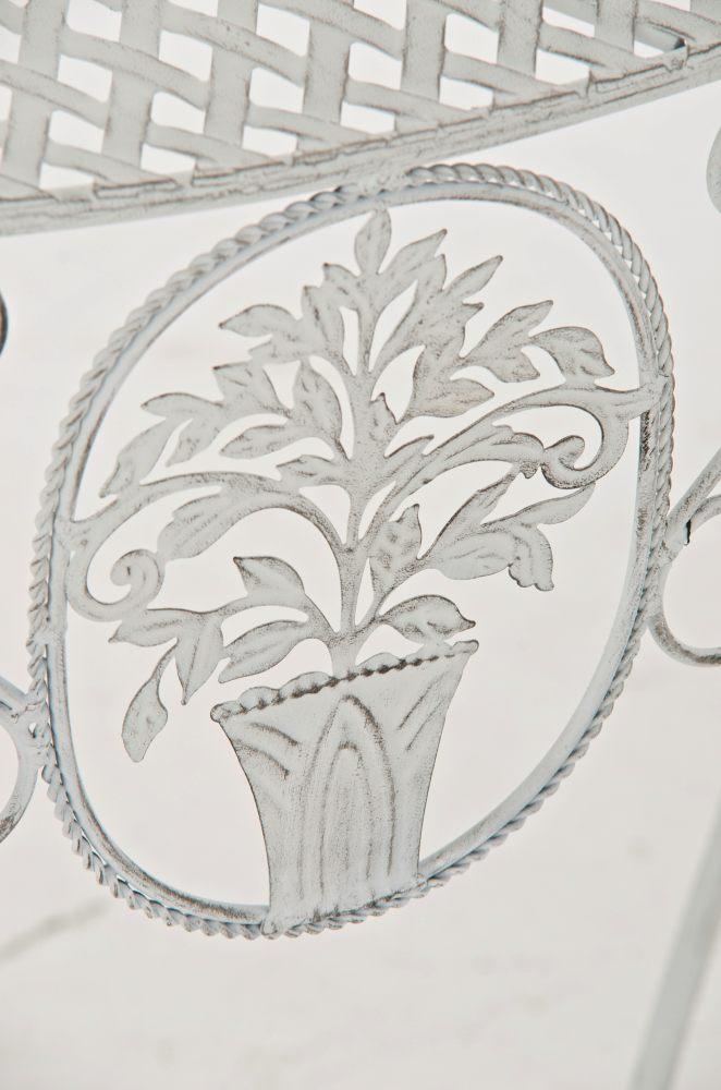 blumentisch sorana antik wei eisen pflanztisch. Black Bedroom Furniture Sets. Home Design Ideas