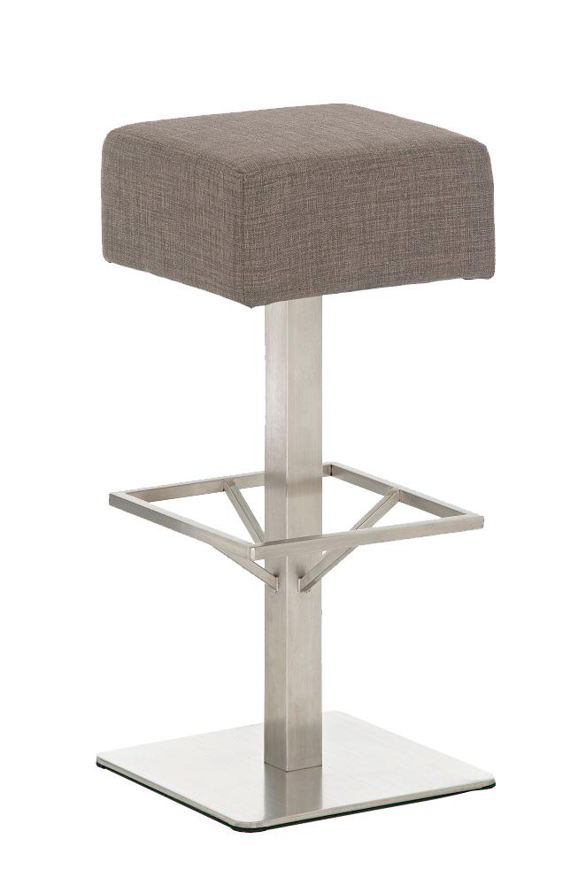 barhocker glasgow stoff edelstahl tresenhocker stuhl. Black Bedroom Furniture Sets. Home Design Ideas