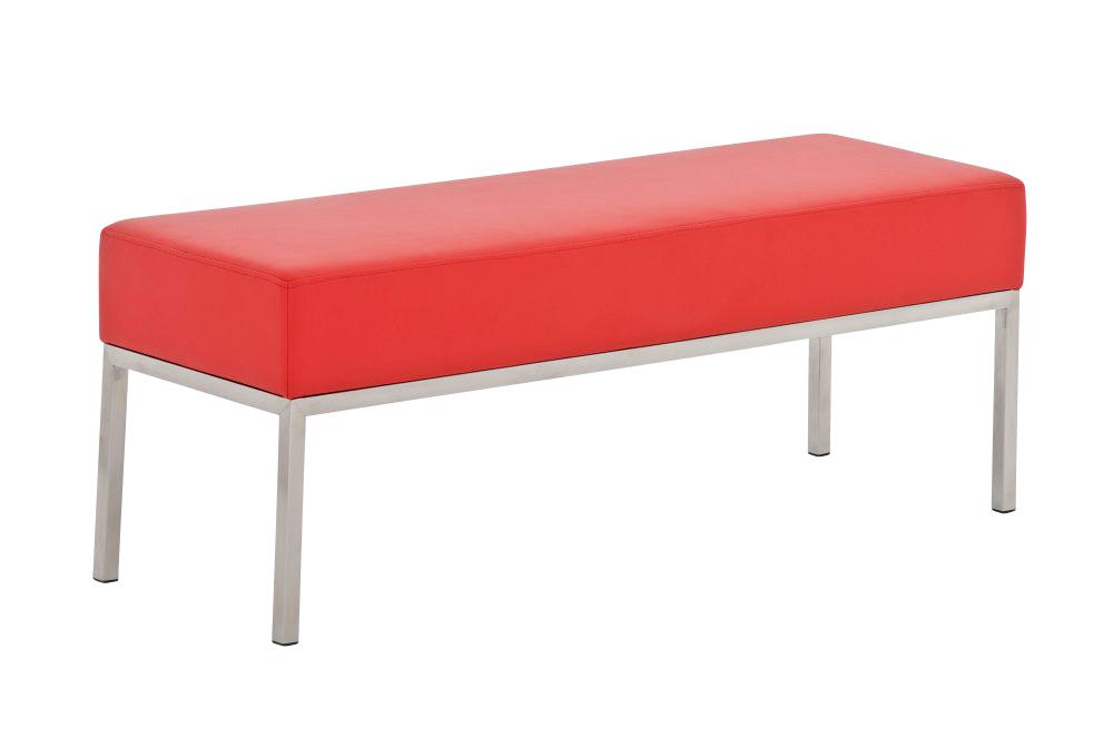 3er sitzbank besucherbank wartebank lamega edelstahl bank. Black Bedroom Furniture Sets. Home Design Ideas